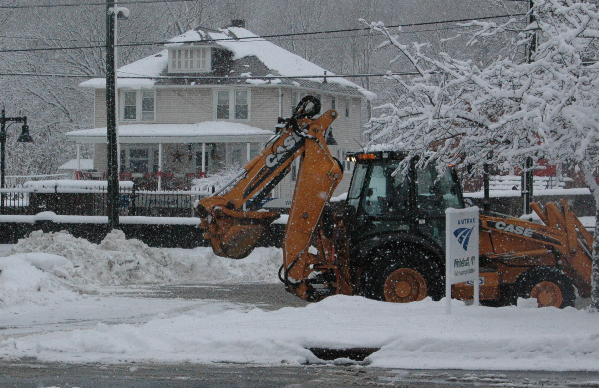 Whitehall DPW, Highway Department busy with weather