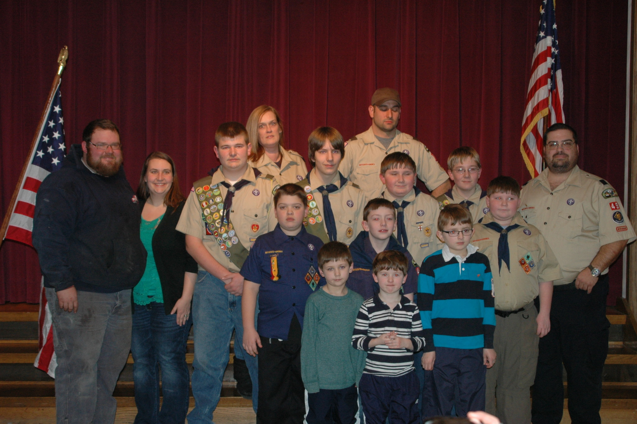 Boy Scout Troop 83 Moving Forward