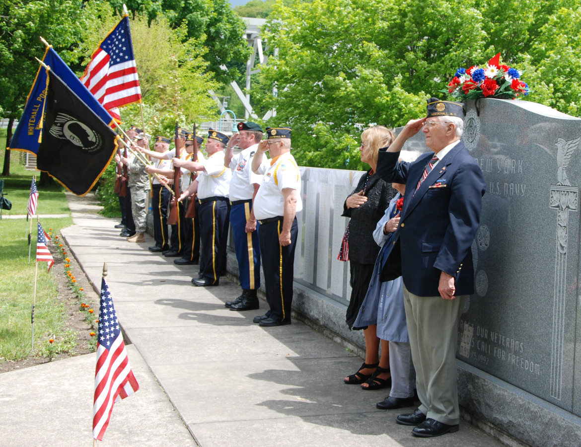 Last year's memorial day parade