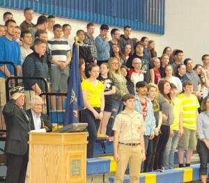 Granville High School honors fallen soldiers