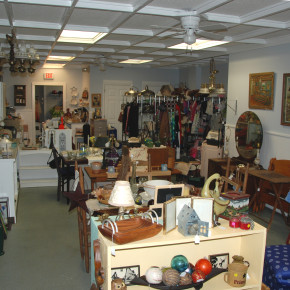 The 2nd Time Around consignment store at 35 Main St., Granville, is filled with hundreds of items at bargain prices.
