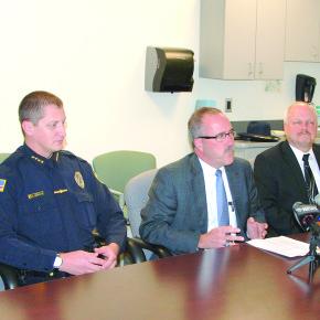 Drug Bust Press Conference