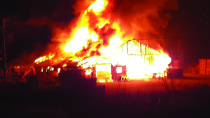 Cause unknown for Route 23 fire