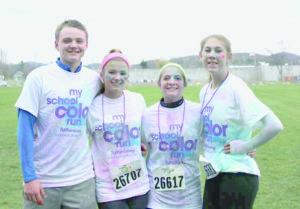 Color run in Granville Saturday