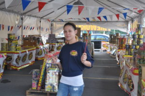 Fireworks for sale, for a good cause