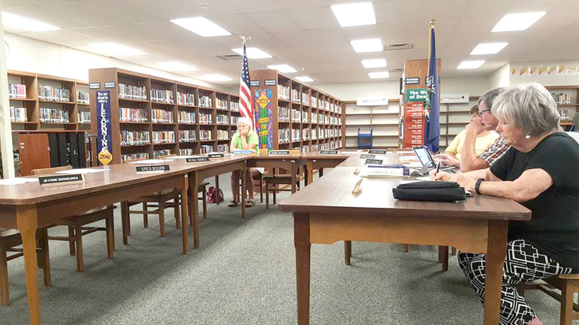 Only three board members showed up to last week's meeting, which is not enough to hold a meeting.