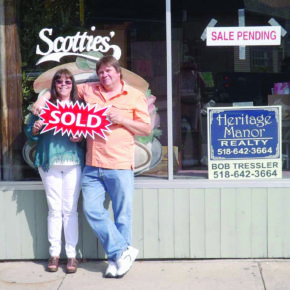 Mark and Edie Pickard of Granville purchased Scotties', a long-time diner and gift shop on Main Street, last week. The couple plans to preserve the atmosphere of the former Scotties'.