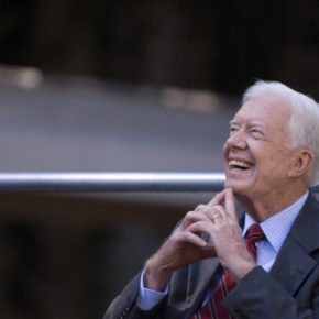 Former president Jimmy Carter (Credit: The Carter Center)