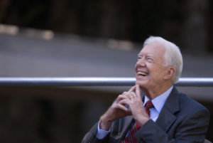 Whitehall man corresponds with former president