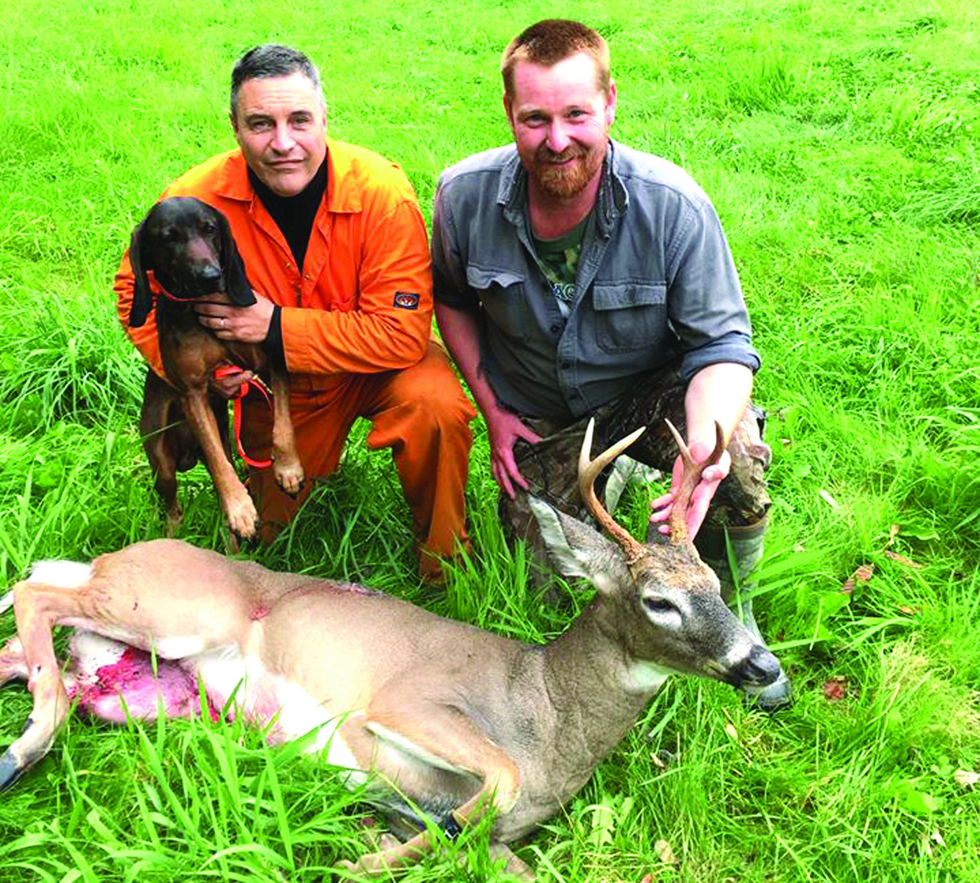 Local tracker helps hunters find 'lost' game