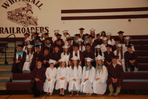 52 graduate from Whitehall High School