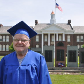 """Vietnam veteran Walter """"Buddy"""" Hughes will receive his diploma with the Granville High School Class of 2017 at graduation next Friday."""