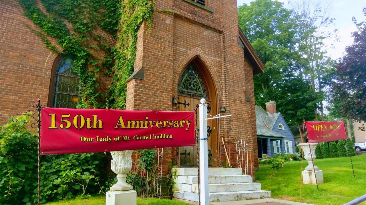 Former Mount Carmel Church celebrates 150 years