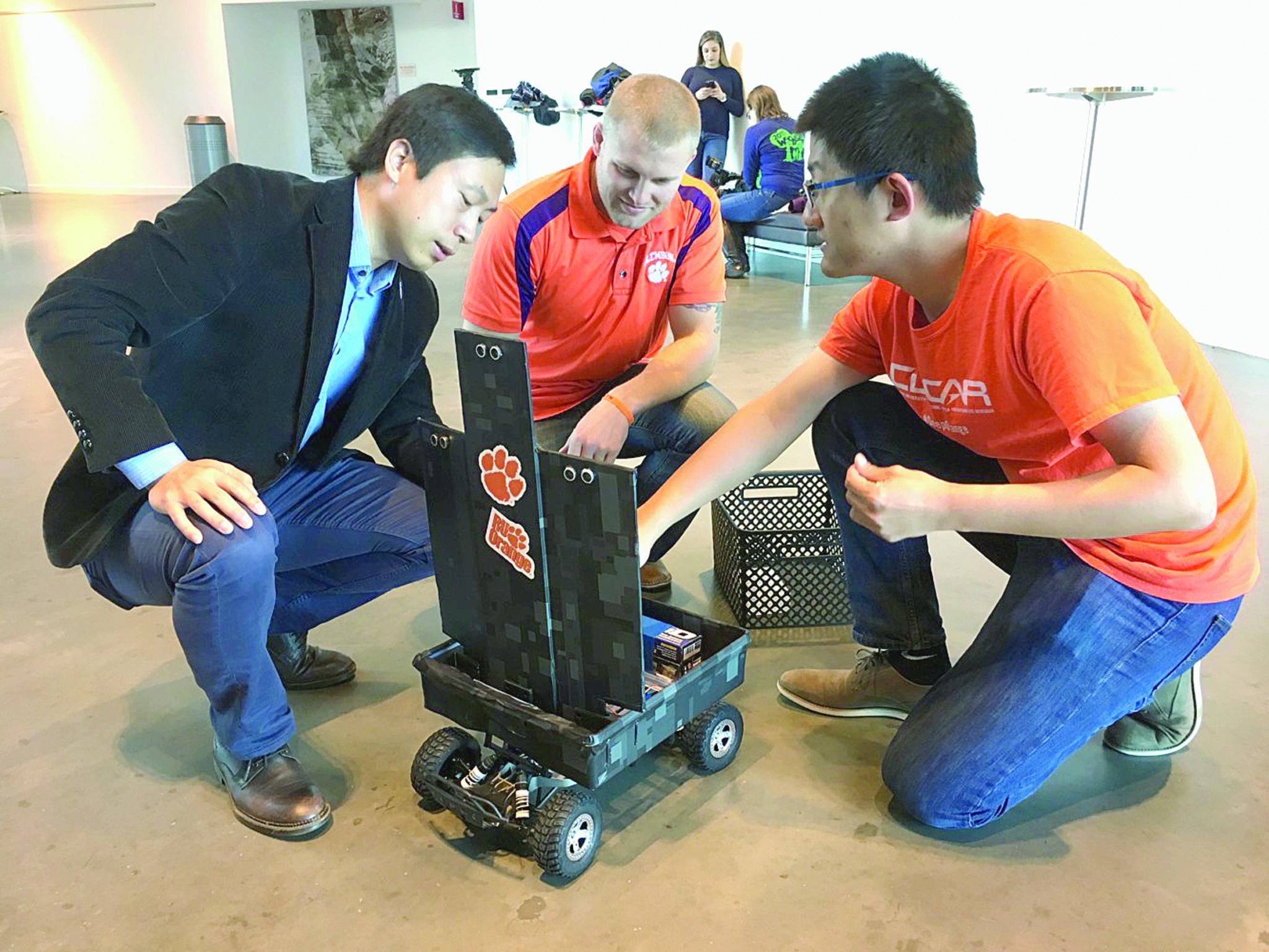 Whitehall graduate's robot making news