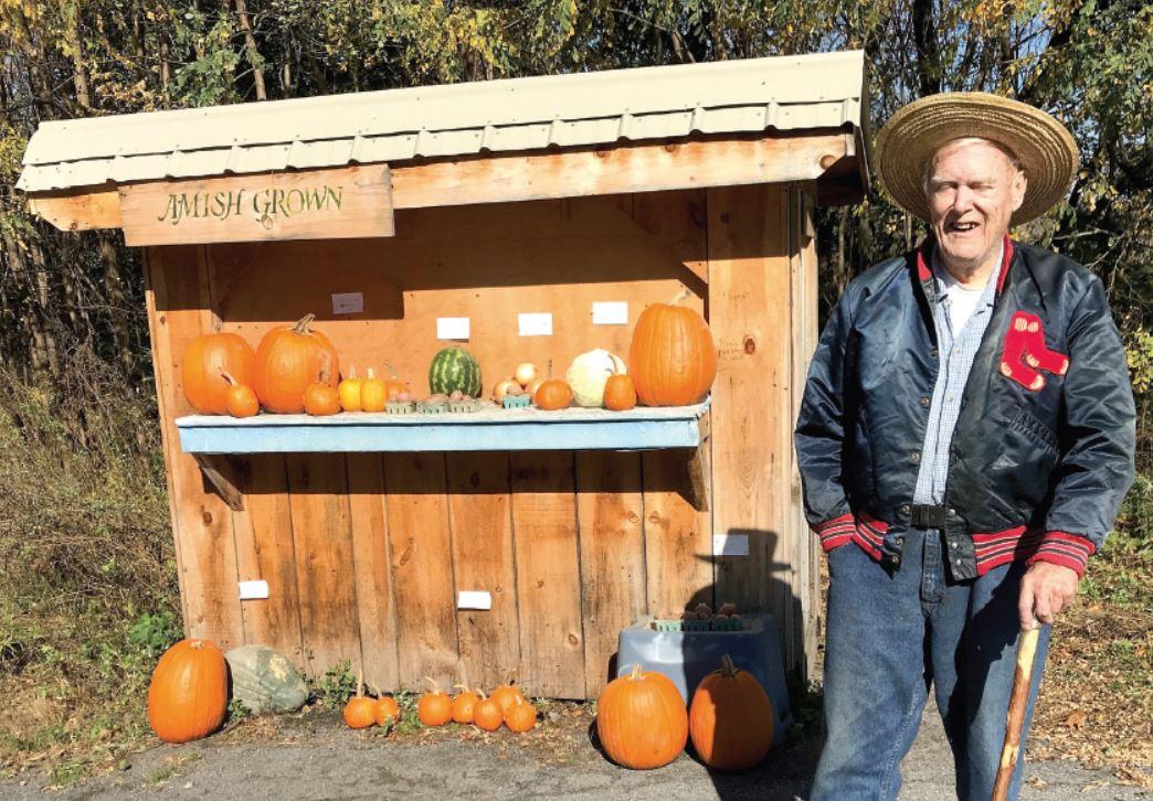 'Honor system' decline dismays local produce vendor