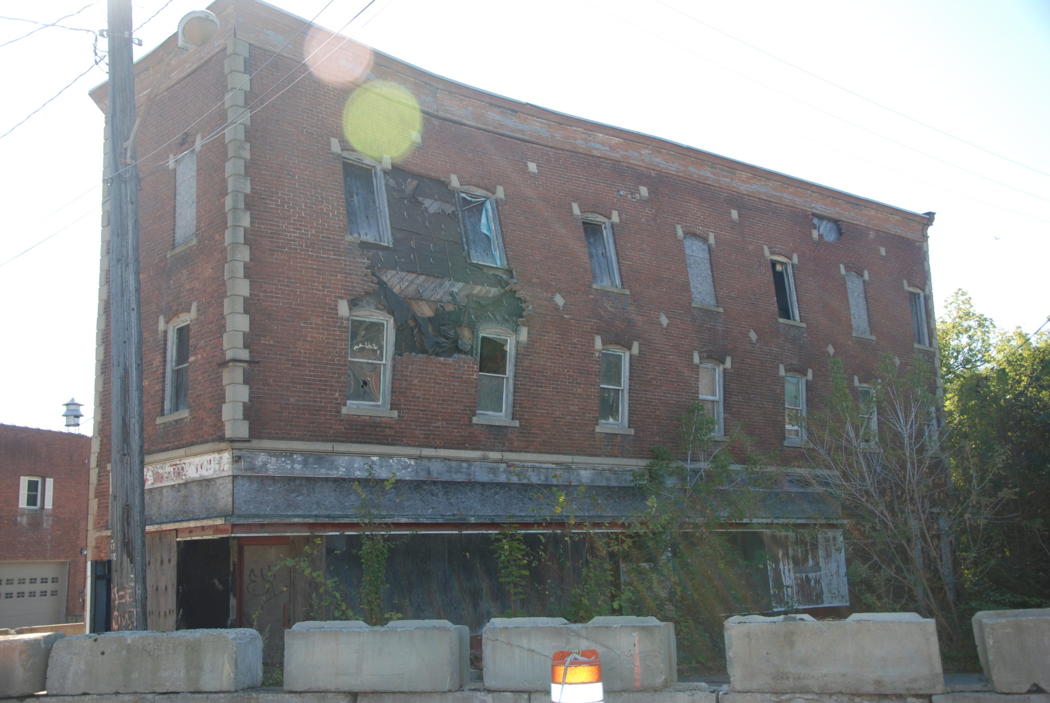 Village seeks funds for Flat Iron demo