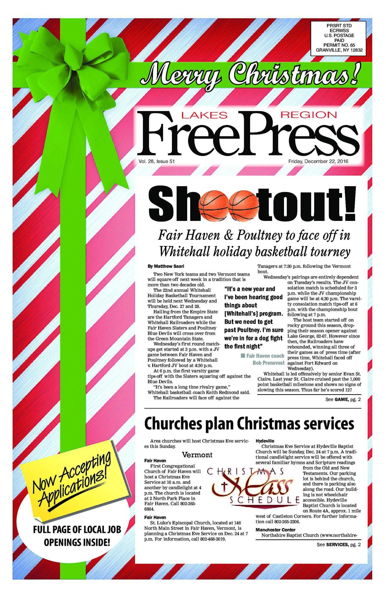Lakes Region Freepress – 12/22/17