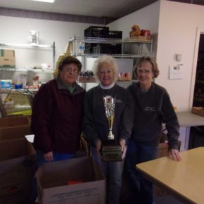 whitehall food pantry wins!