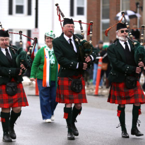 Irish Pride. residents of Hoosick came out to celebrate their irish heritage on Saturday afternoon at the Hoosick St. Patrick's Day parade held on Main St. in Hoosick. Holly Pelczynski/Bennington Banner/photos.benningtonbanner.com