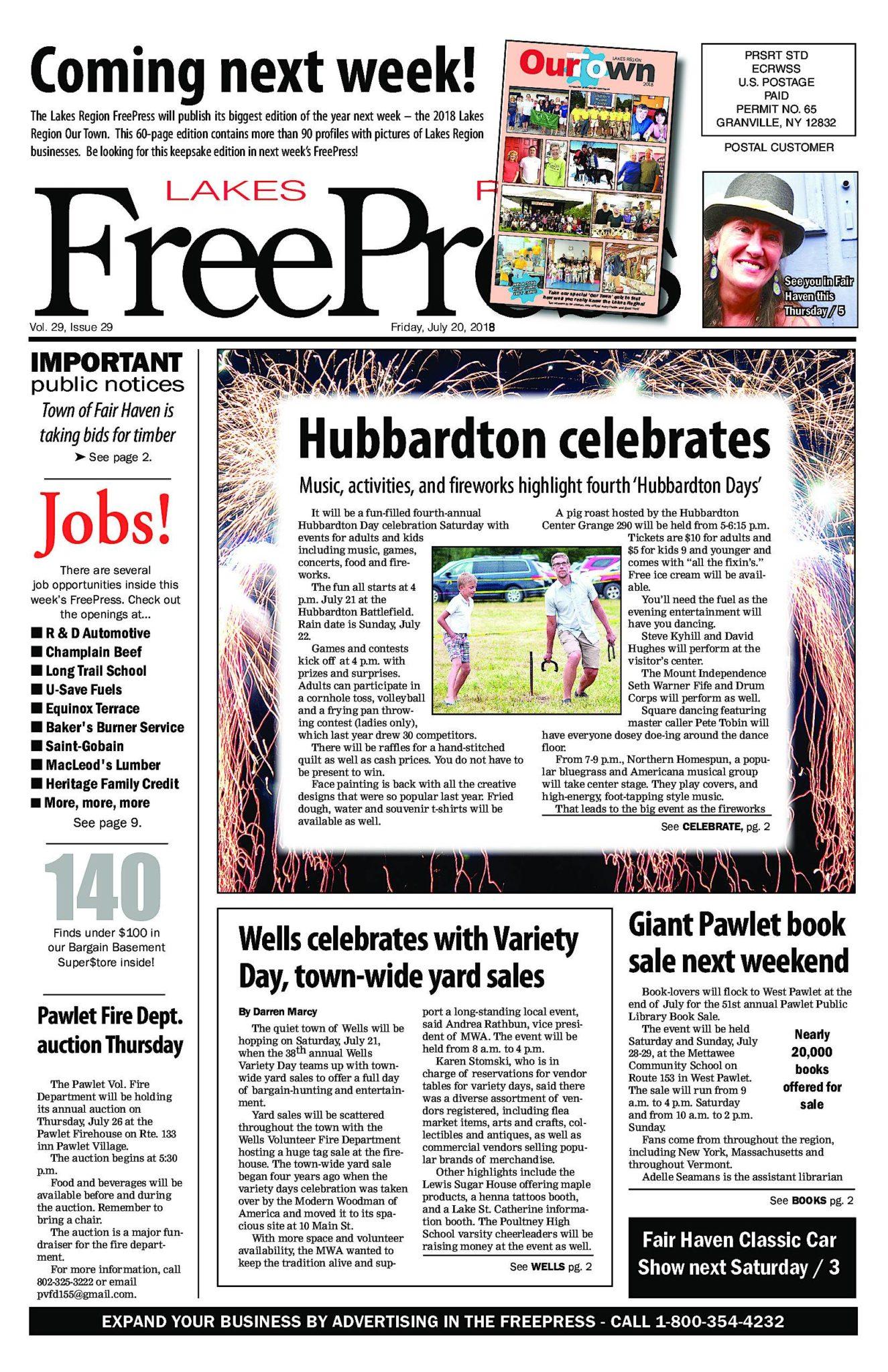 Lakes Region Freepress – 07/20/18