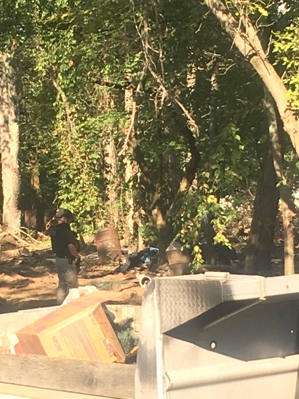 Bomb squad called to Granville village
