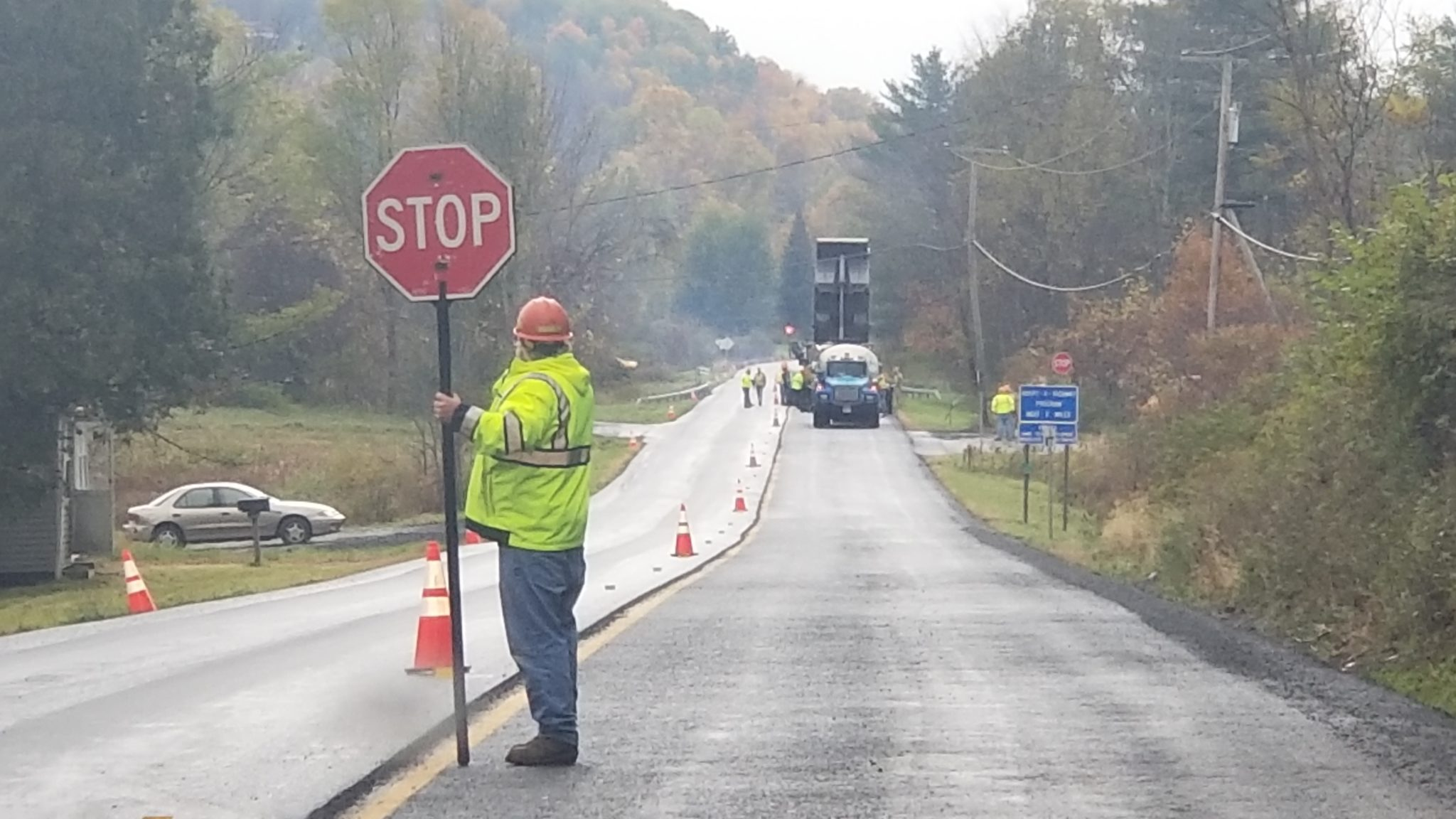 Route 22A paving resumes