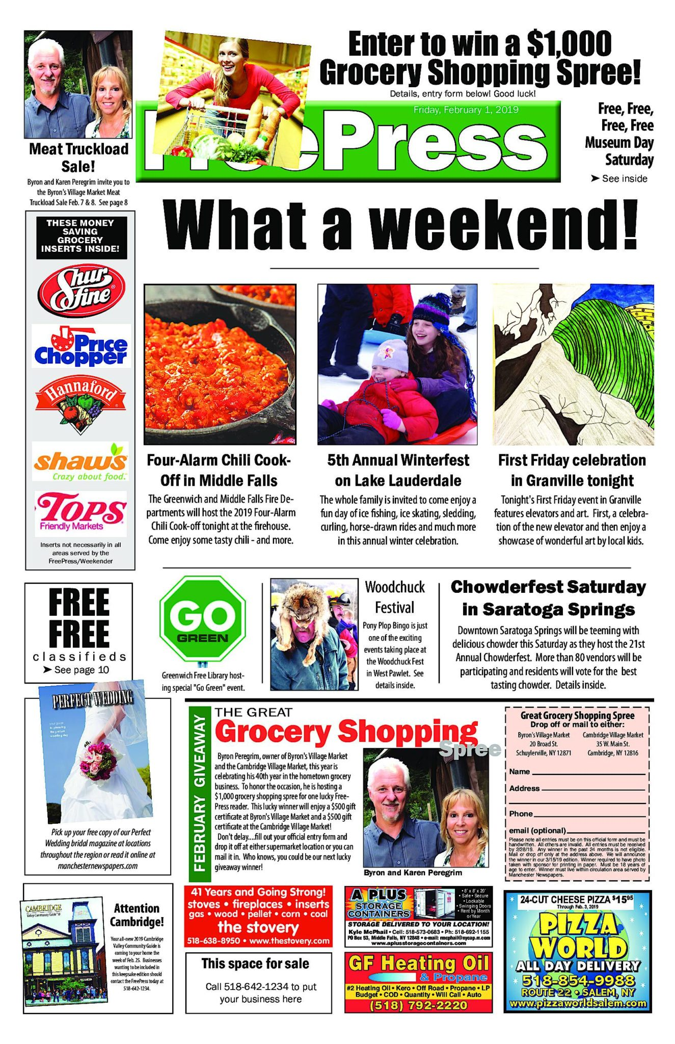 North Country Freepress – 02/01/19