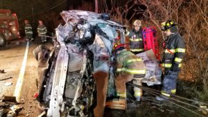 Fire calls, accidents keep firemen busy
