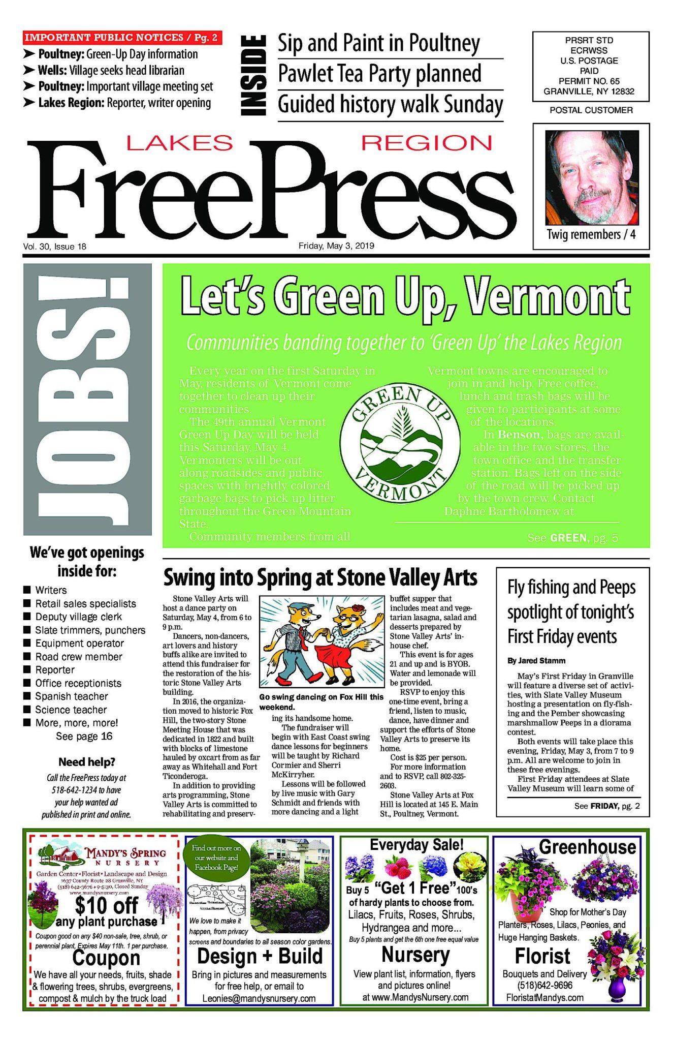 Lakes Region Freepress – 05/03/19