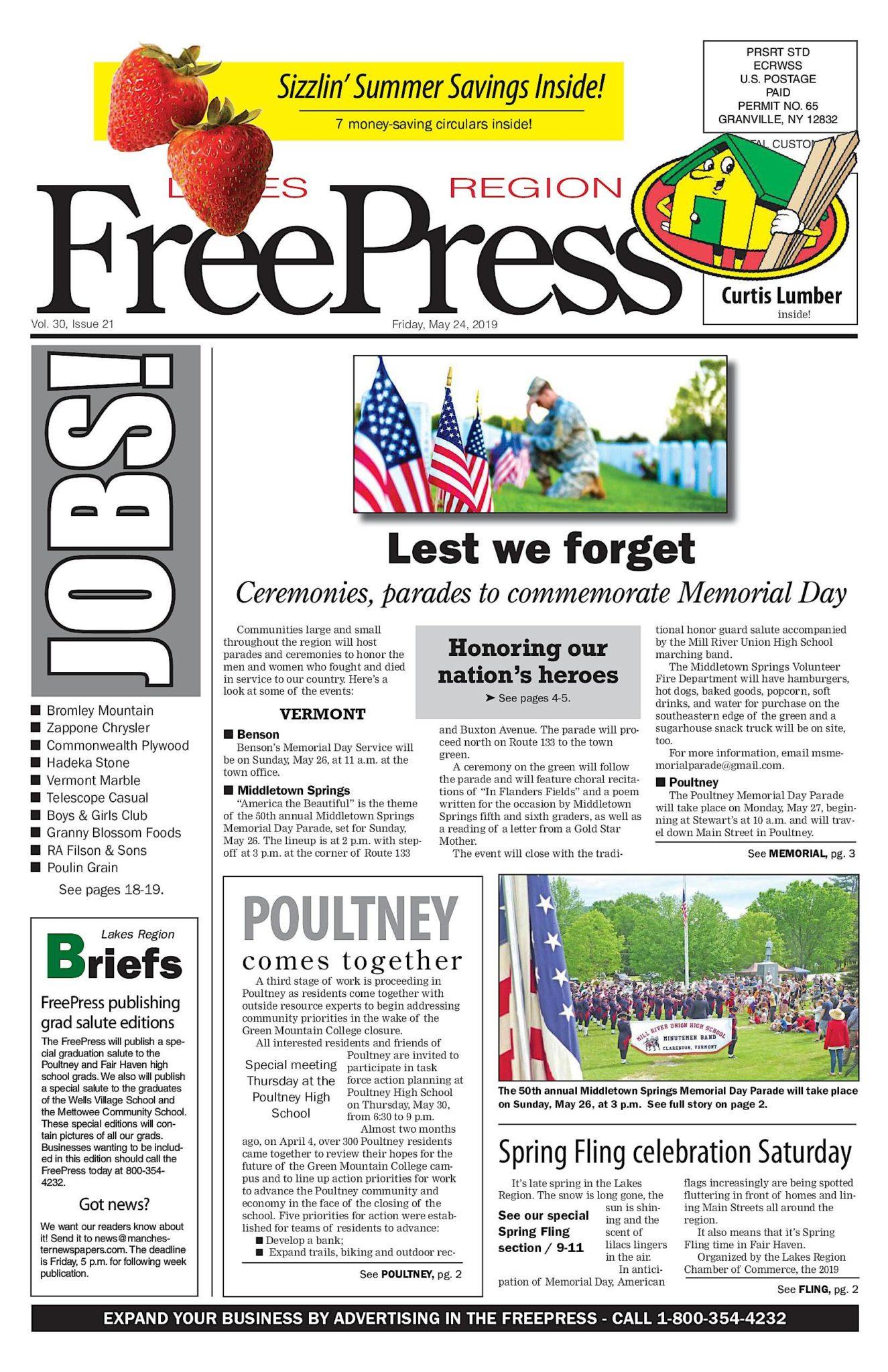 Lakes Region Freepress – 05/24/19
