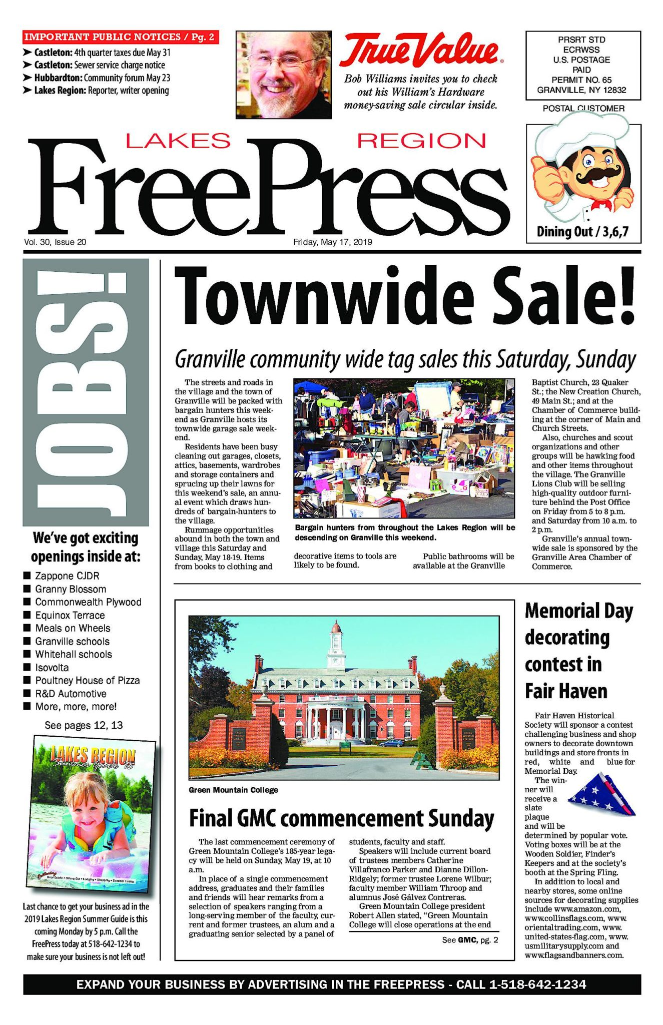 Lakes Region Freepress – 05/17/19