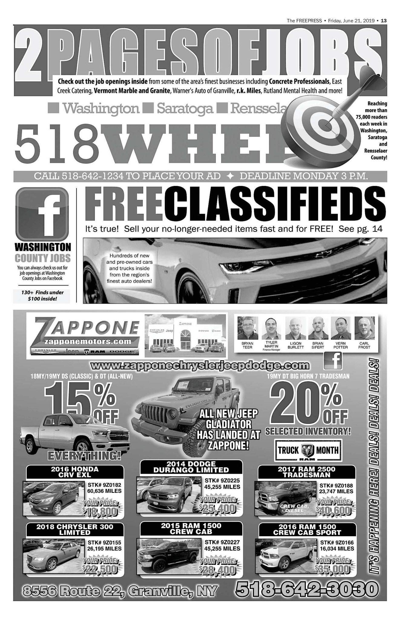 518 Wheels – 06/20/19