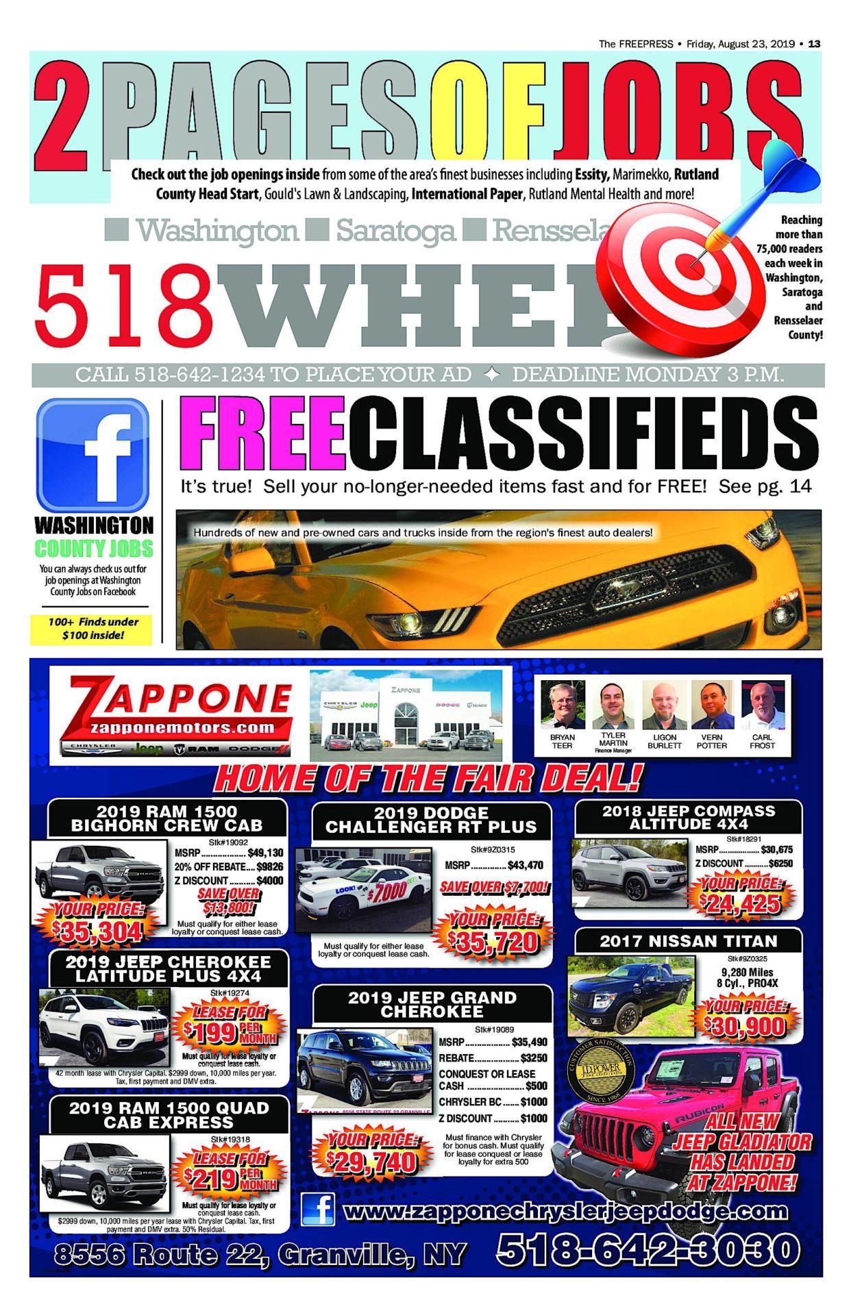 518 Wheels – 08/22/19
