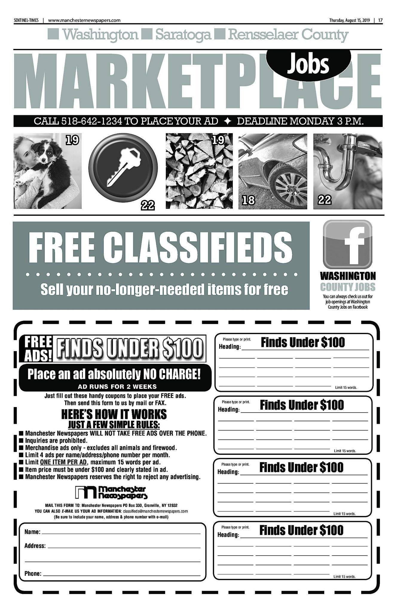 Classifieds 08/14/19
