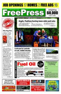 North Country Freepress – 10/11/19