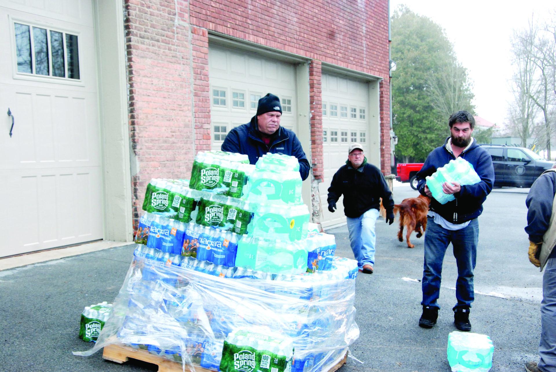 Bottled water bails out village