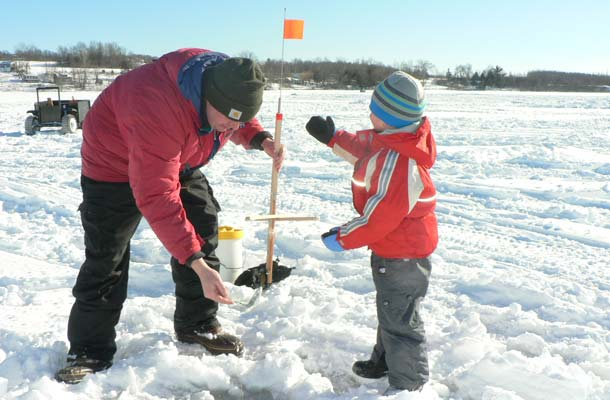 Ice fishing derbies revving up