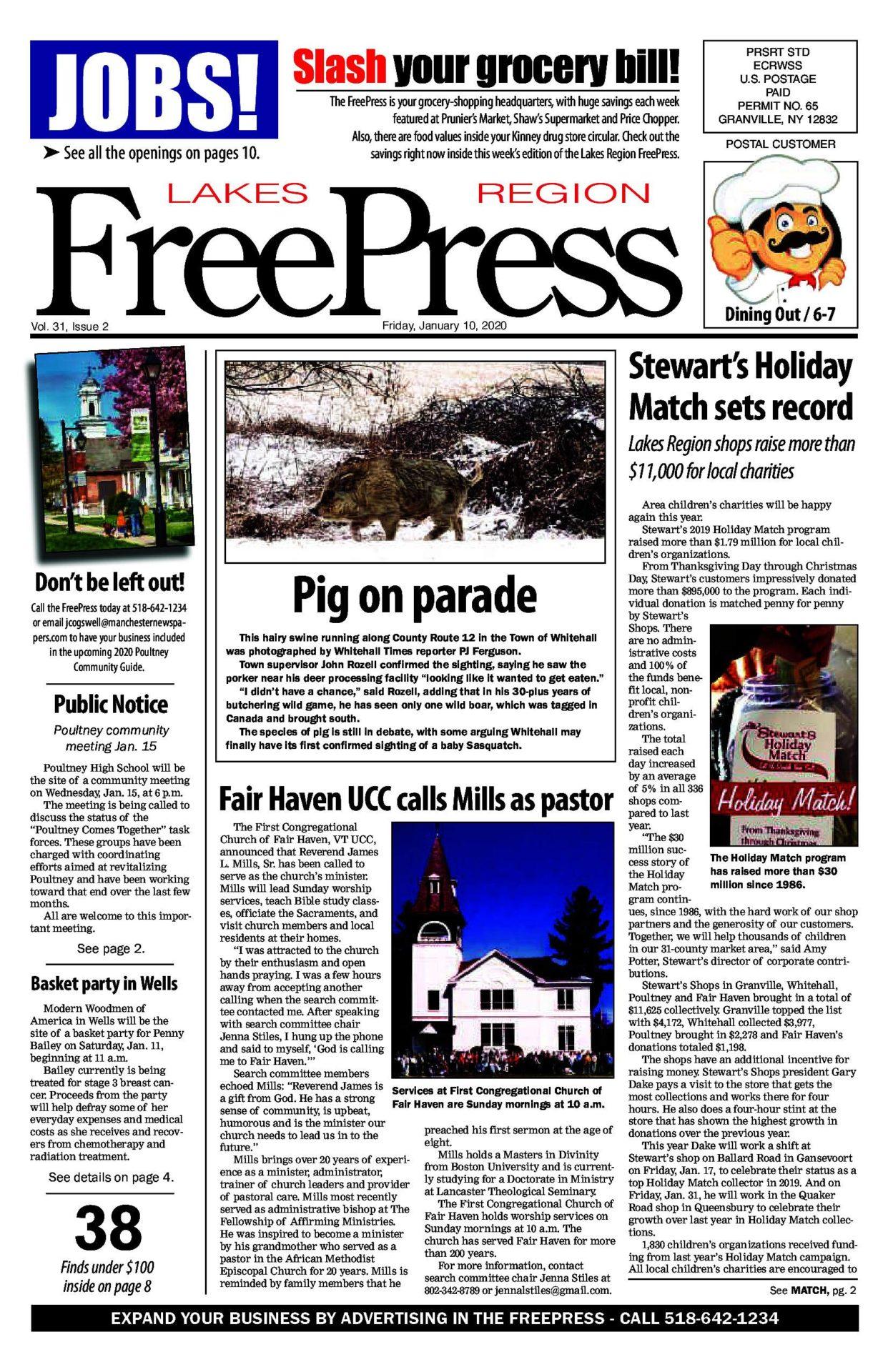 Lakes Region Freepress – 01/10/20