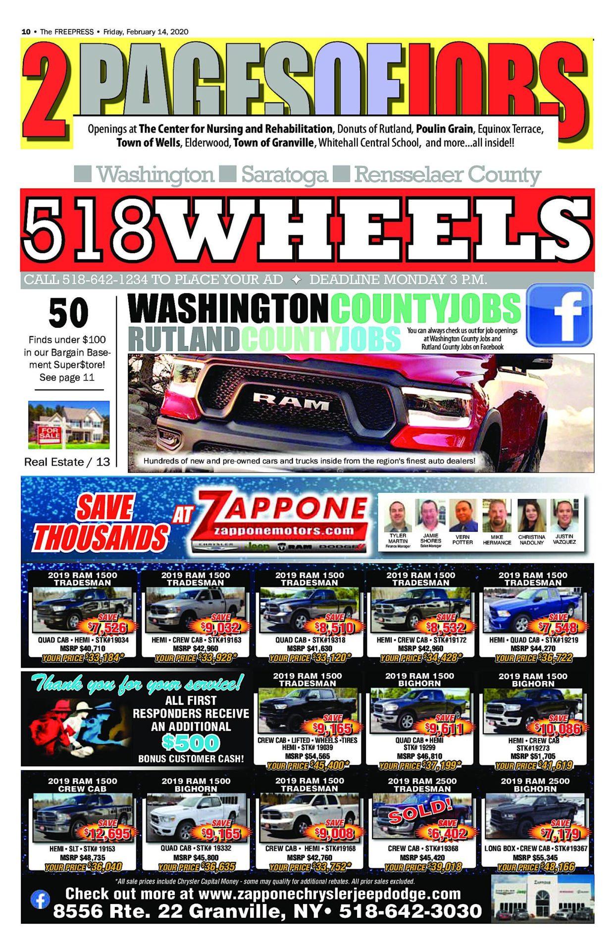 518 Wheels – 02/13/20