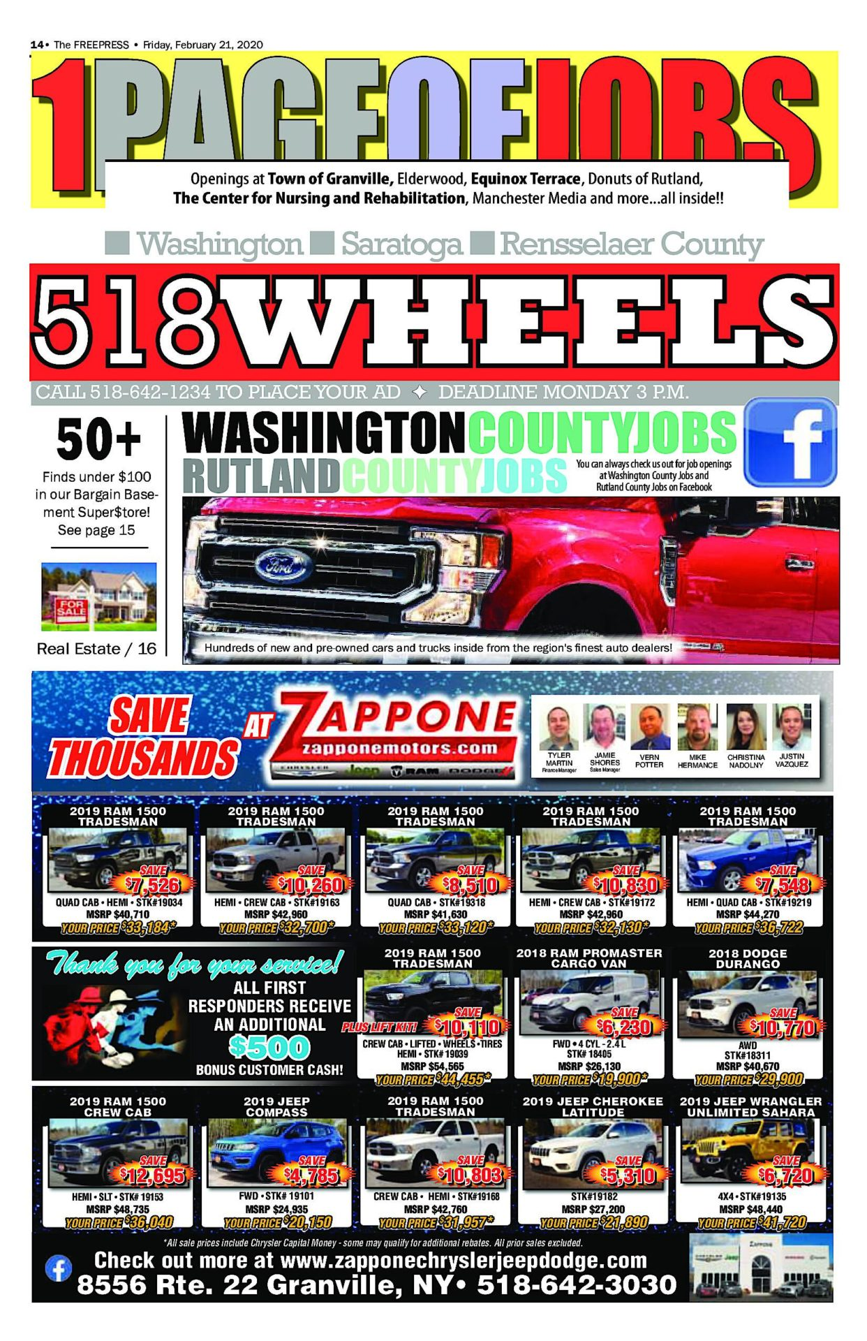 518 Wheels – 02/20/20