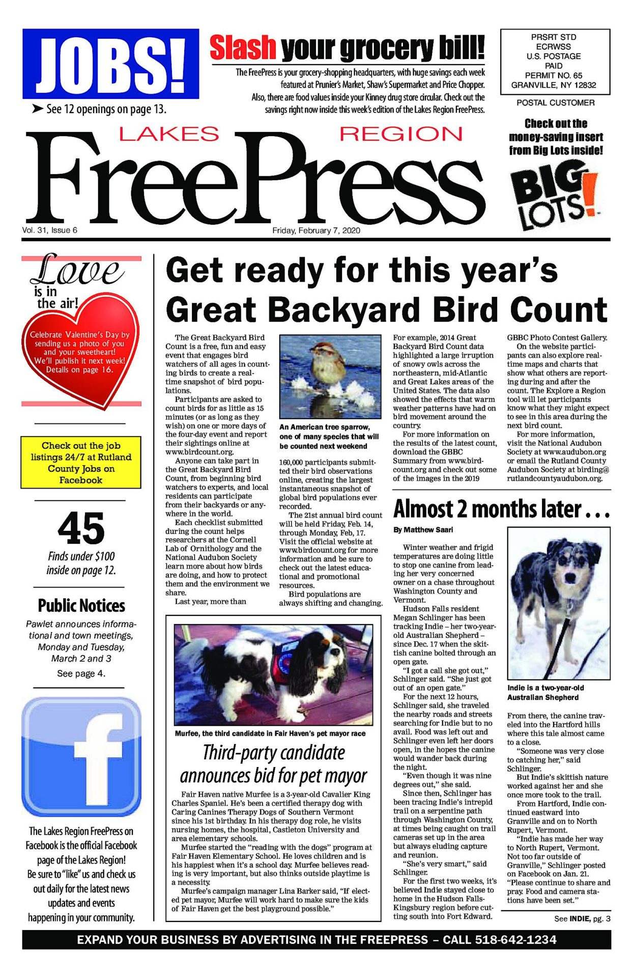 Lakes Region Freepress – 02/07/20