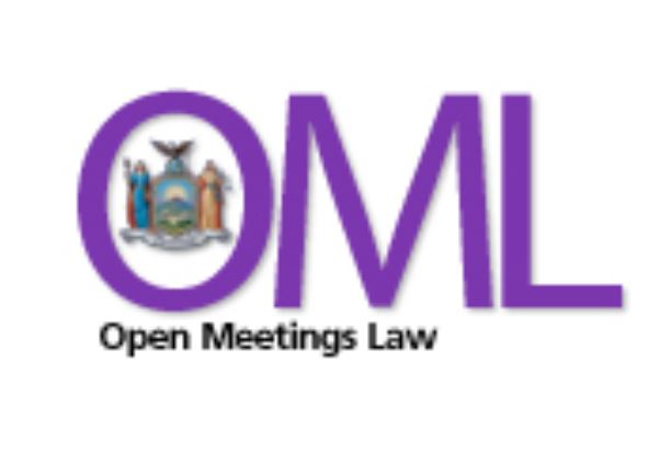 Open meetings law suspended by state