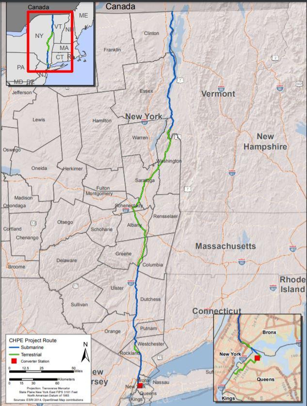 Village OK sought for power line; hearing on June 16