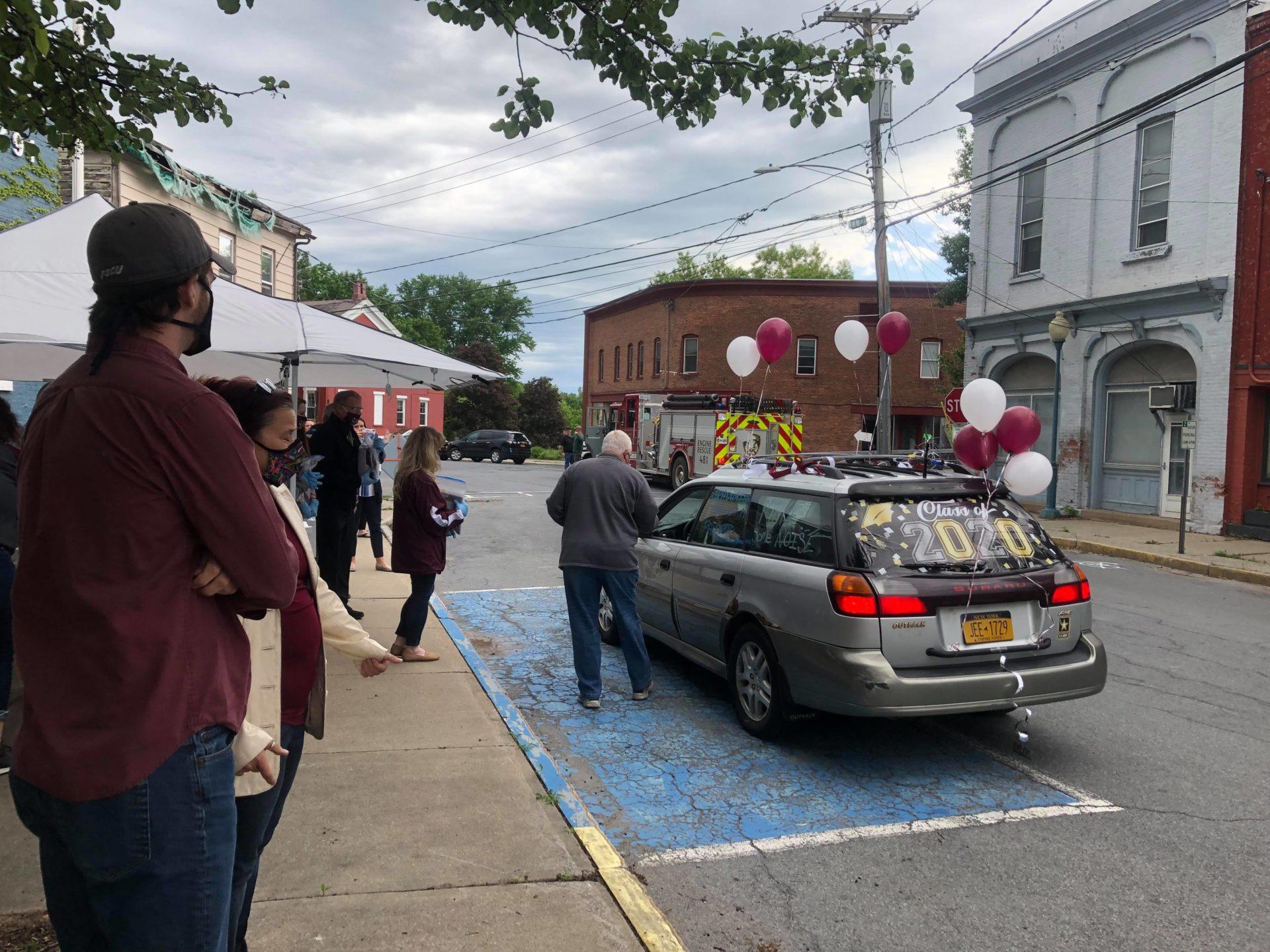 Seniors parade in Elks event
