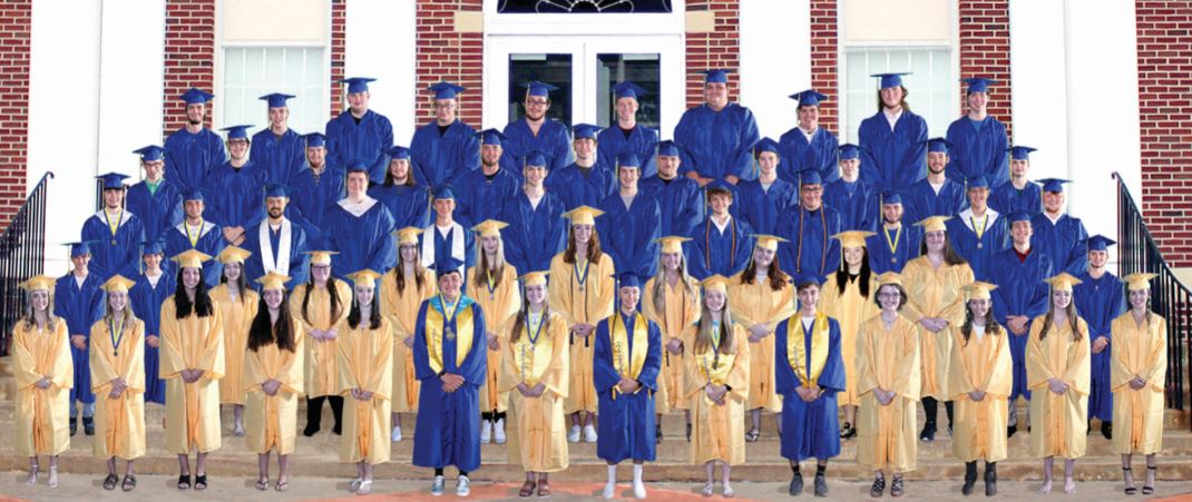 63 to graduate Friday in double ceremony