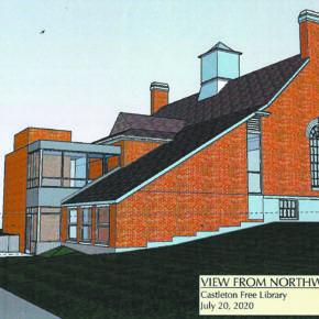 Castleton library addition