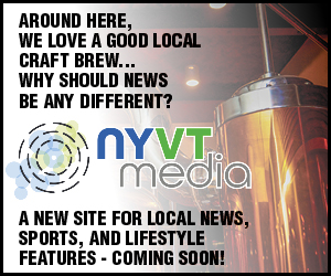 Around here, we love a good local brew... Why should news be any different? NYVTmedia - A new site for local news, sports, and lifestyle features - coming soon!