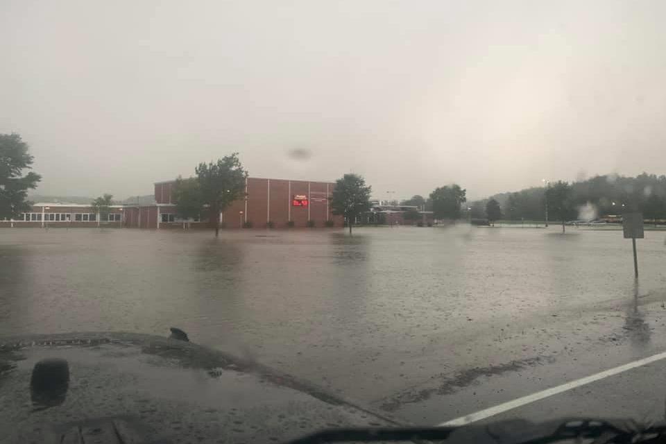 School district awaits insurance claim