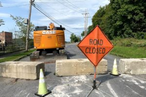 Canal wall gets emergency status