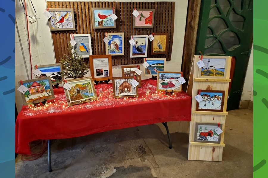 Christmas bazaar for kids at Hicks Orchard